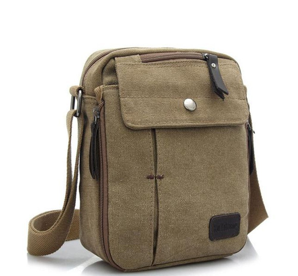 8e2d73b852f Get Quotations · Outdoor Sports Casual Canvas bag Backpack Crossbody Sling  Bag Shoulder Bag Chest Bag for Menasual Canvas