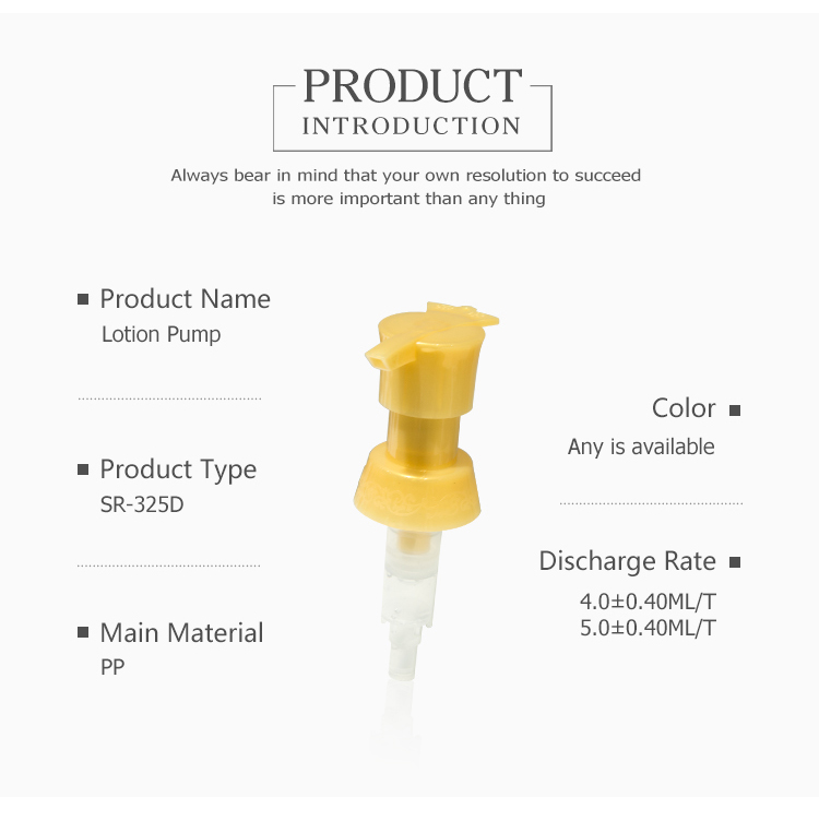 Manufacturers direct cosmetics pump head made of quality plastic lotion pump