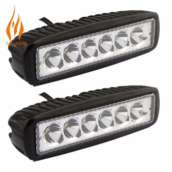 Good quality 6 inch LED light bar for off road, SUV and other vehicles with CHEAPEST PRICE