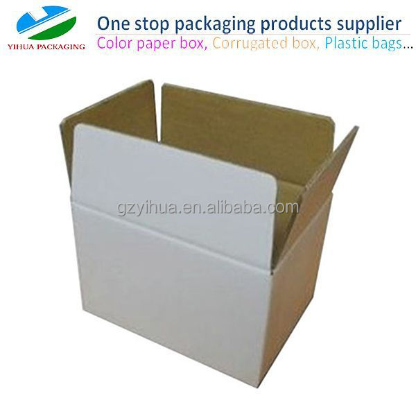 Custom brown or white Die Cut carton Box for Outer Packing