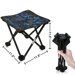 Portable Mini Portable Folding Stool Small Folding Chair