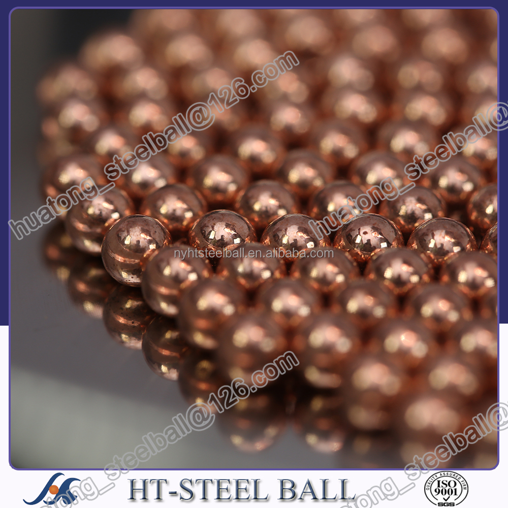 4.5mm Copper plating caarbon steel ball