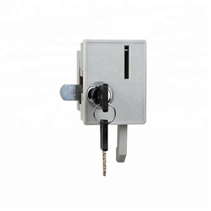 coin locker cabinet returner operated door lock with key