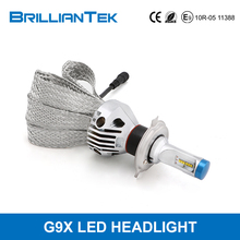 Buy now,delivery now!Super Powerful Stable Canbus No Fan H4 Waterproof Car Head Light Bulb Auto LED Headlight Kit For Automotive