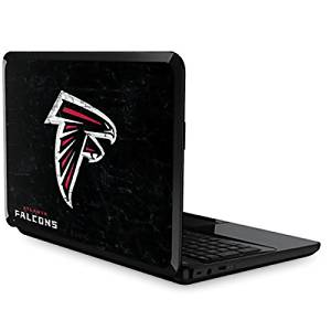 NFL Atlanta Falcons Pavilion G7 Skin - Atlanta Falcons Distressed Vinyl Decal Skin For Your Pavilion G7
