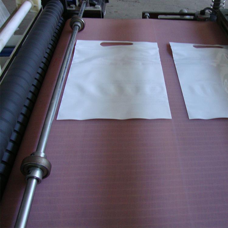 Pas cher prix fermeture à glissière pochette zip sac en plastique faisant la machine avec le sac d'étanchéité sac de coupe