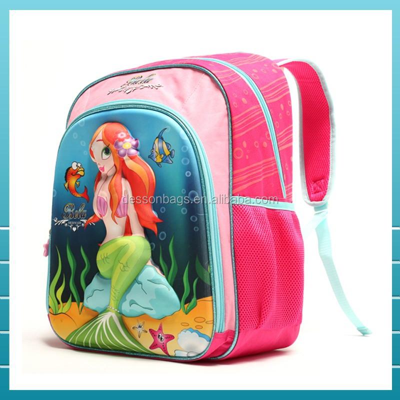 Populaire De Kleine Zeemeermin 3d Eva Kind Schooltas Voor Tiener Meisjes Buy Kind Tas,Kind Schooltas,Kind Schooltas Voor Tiener Meisjes Product on