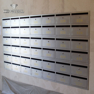 Bespoke Design Competitive Price stainless steel mailbox for apartment residential
