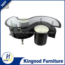 high quality glass coffee table ,and lower price , it is Comfortable,Practical and elegant, take many happiness for living
