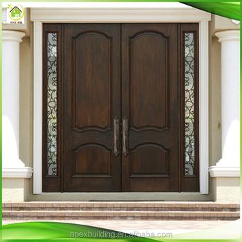 Appartement porte maison ext rieures doubles portes d 39 entr e r sidentielles buy portes - Porte de maison ...