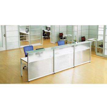 Mostrador De Oficina.Vidrio Marco De Acero Oficina Panel Mostrador De Recepcion Buy