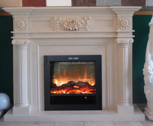 hot sale royal botticino stone fireplace NO MOQ for EUROPE and USA market