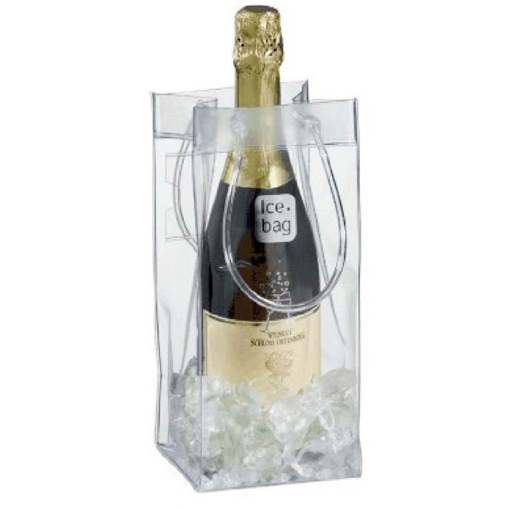china supplier pvc wine tote gift bag printing lables