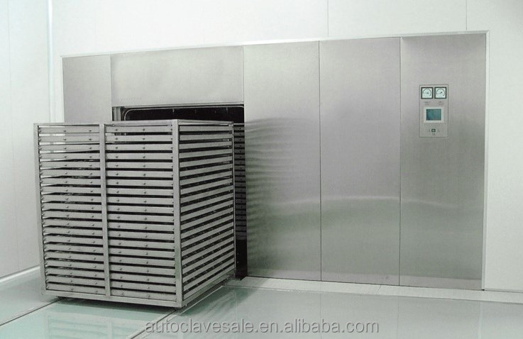 Super Water Bath Sterilizer For Pharmaceutical Factory