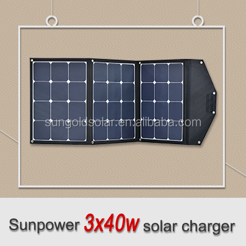 Light weight portable solar charger for camping military outdoor
