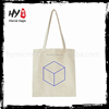 High quality canvas foldable shopping tote bag