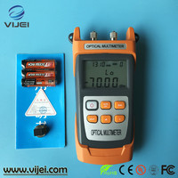Newest KING-40S Fiber Optical Power Meter -70~+10dbm 10mw 10km Cable Tester Red Laser Visual Fault Locator Testing Tool
