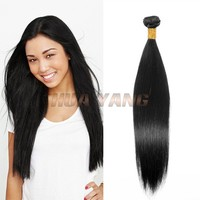Wholesale unprocessed 7a cheap brazilian silky straight remy human hair weft aliexpress virgin straight hair