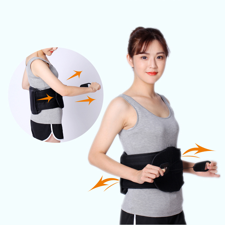 Orthopedics Lumbar Back Brace Lower Back Support Belt Brace  with CE ISO
