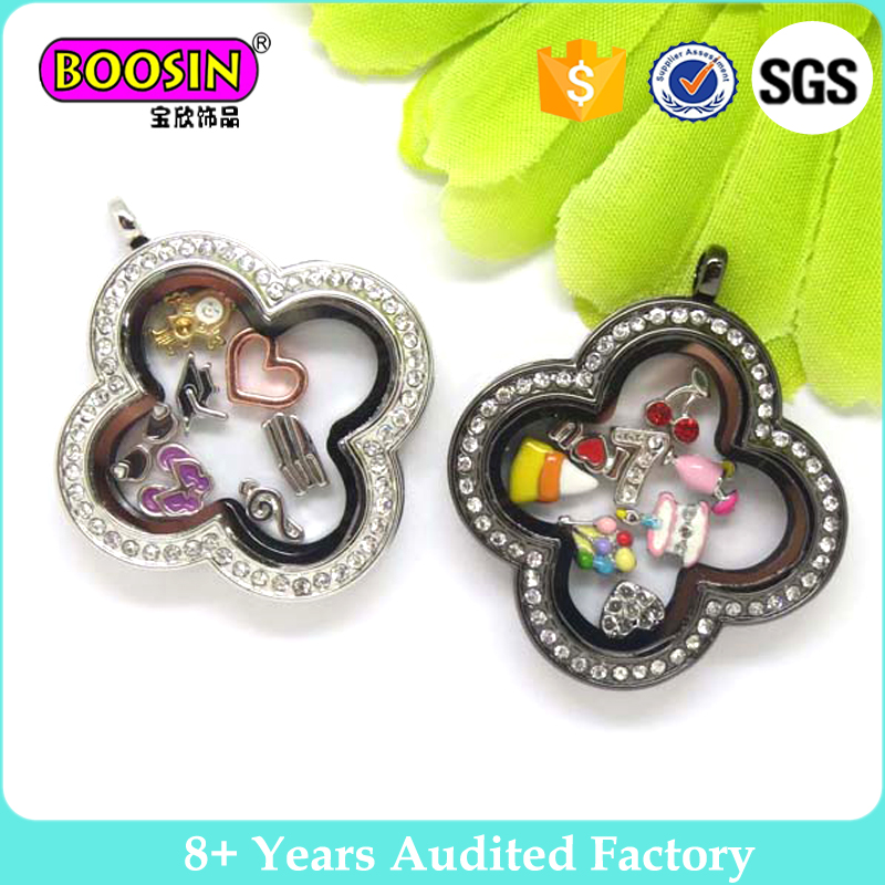 Wholesale jewelry pendants floating locket charms