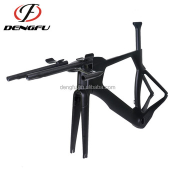 New design time trial bikes frame TT01 carbon fiber TT frameset