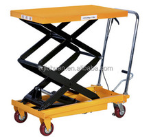 The Cheap Double Scissor Lift Table For Plywood, Maximum Lifting Height 720/900/1000/1500mm