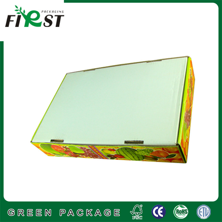 Foldable Corrugated Paper Fruit Grade Packaging Box/FRESH FRUIT CORRUGATED PAPER/PACKAGING