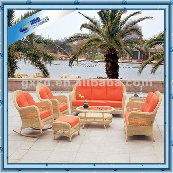 SD Patio 6 pieces outdoor rattan or wicker sofa furniture