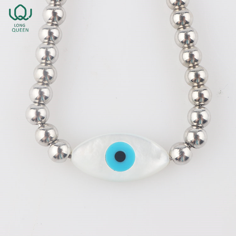 New Trendy jewelry bracelet women evil eye beads bracelet