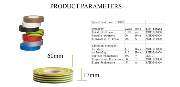 pvc electrical tape material price list