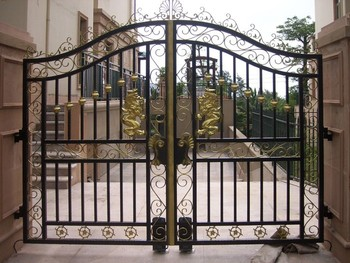 low price high quality house gate design.jpg 350x350 - View Low Cost Small House Gate Design Philippines PNG