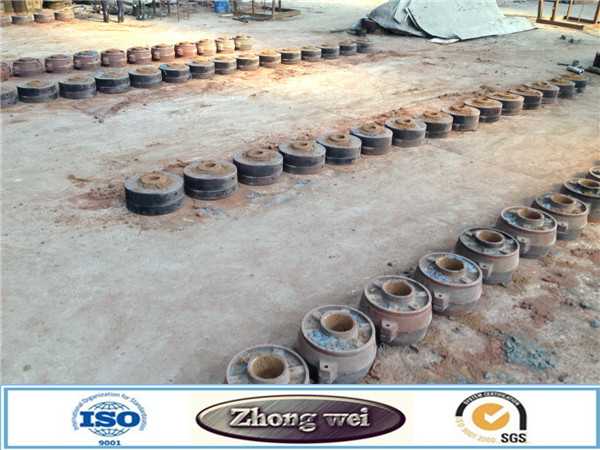 Mines and cement used cast iron ball dia20-150mm