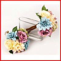 Real touch artificial flower bouquet/wedding bouquet wholesale artificial flower