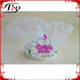 Novelty Bachelor Party Crown With White Veils