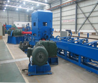 Precision two-rolls vertical straightening machine with feeder system / automatic loading and unloading systerm