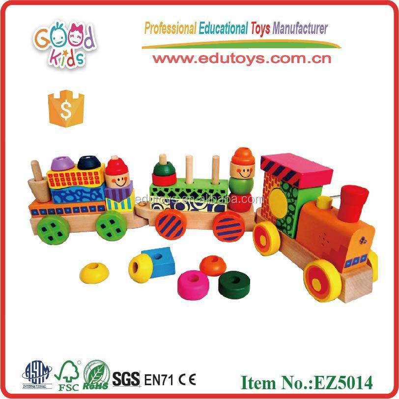Portuguese Learning Toys : Promoção trem de madeira brinquedos educativos grande