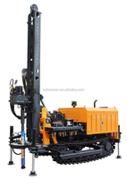 diesel engine borehole water well drilling rig machine borehole drilling equipment