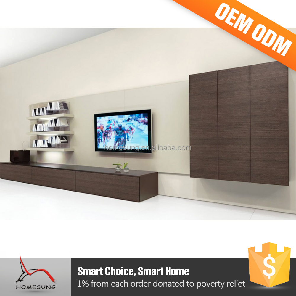 Very Cheap Set Home Furniture Tv Stand Wall Unit Designs