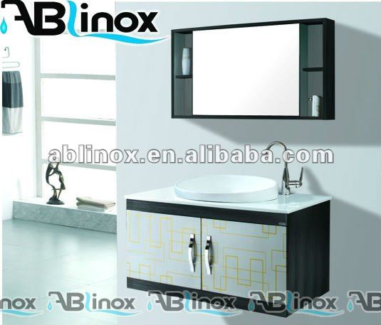 Ablinox Stainless Steel Toilet Cabinet Llxc 9086 Bathroom Mirror
