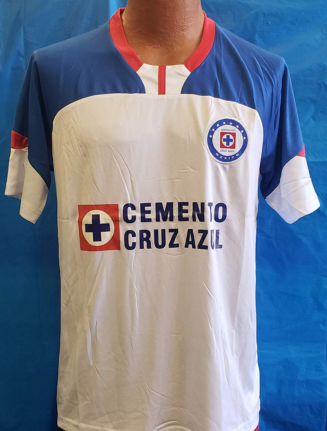 e70e77bd576 Get Quotations · New! White La Maquina de Cruz Azul Generic Jersey Adult  Size XL 2018-19