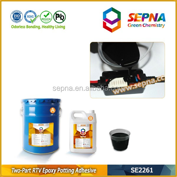High temp resistant rtv epoxy potting adhesive sealant - SE2261