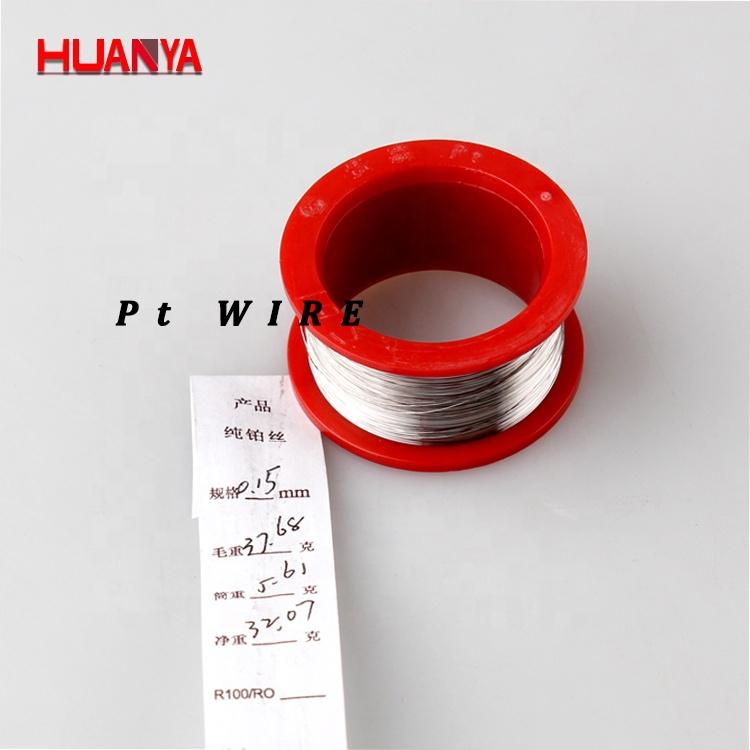 Pt90/Ir10&Pt80/Ir20&Pt75/Ir25 wire 0.02mm/1mm Platinum Iridium Pt/Ir Wire