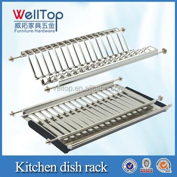 Kitchen Cabinet 2 Layer Dish Drainer Vt-09.002 - Buy Wire Dish ...