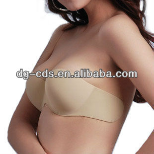 one piece seamless invisible bra sexy fashion young girl bra model