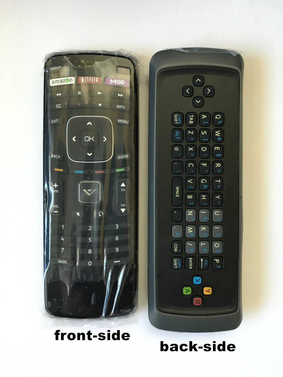 Compatible Multi funtions New VIZIO XRT302 (XRT112 keyboard version) Replaced Smart TV Remote with M-GO