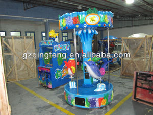 2015 hot sale theme park equipment amusement musical carousel for kids
