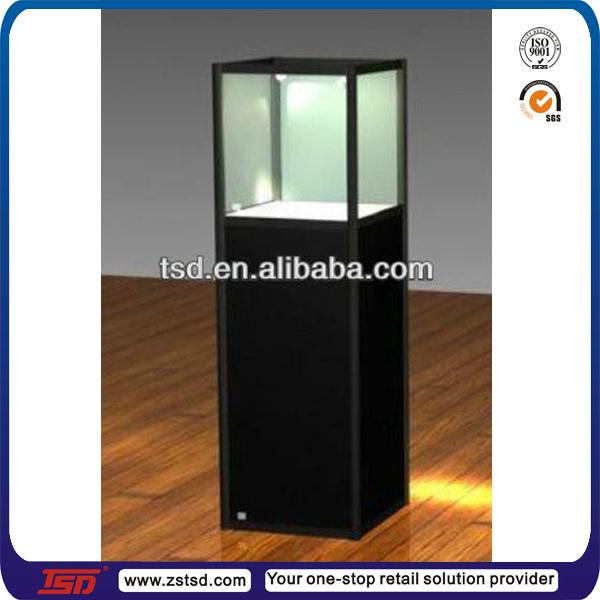 Wood Jewelry Display Stand 3 Displays Floor