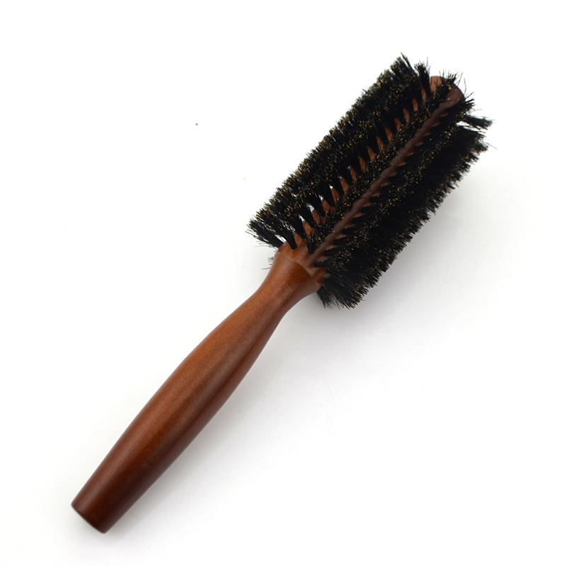 Bristle Boar Round hair Brush great for Hair Straightening Hair Styling Tools