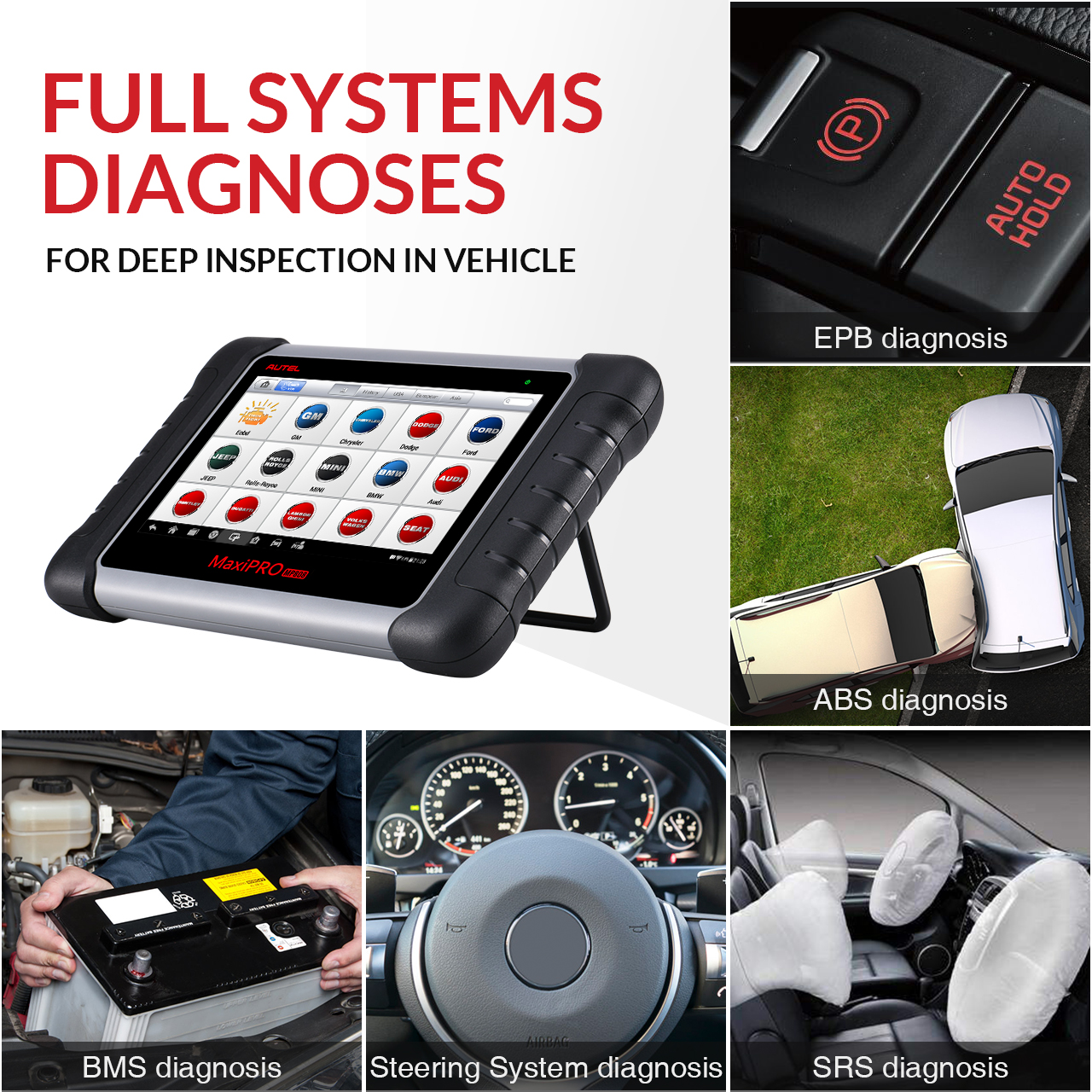 Promotion 2020 Autel  MP808 Scanner Support Injector & Key Coding OBD2 Vehicle Diagnostic Diagnosis Machine For All Cars