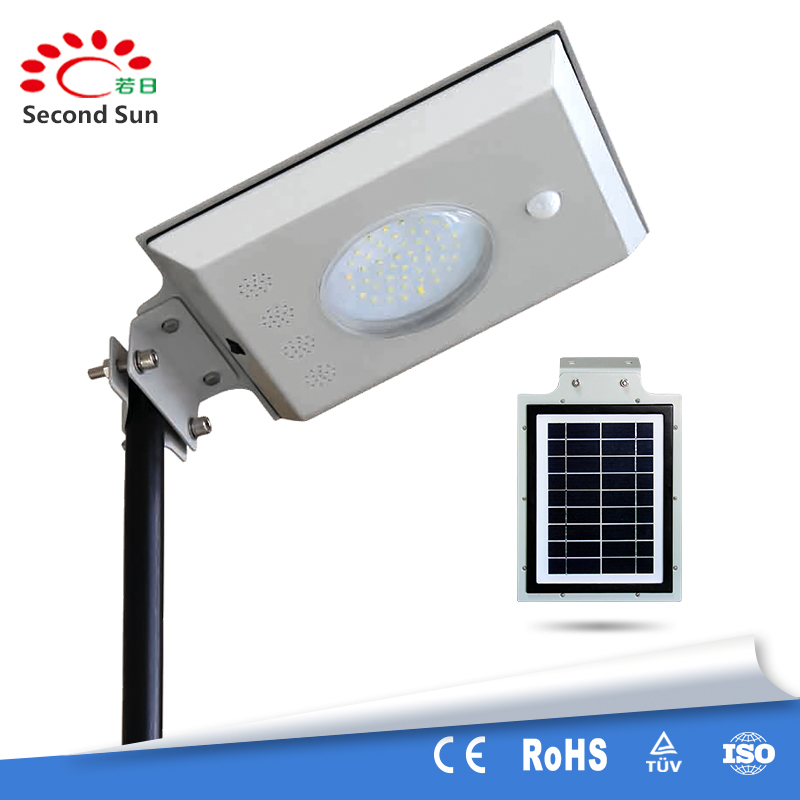 Hottest smart 5W outdoor solar garden and home light with factory price